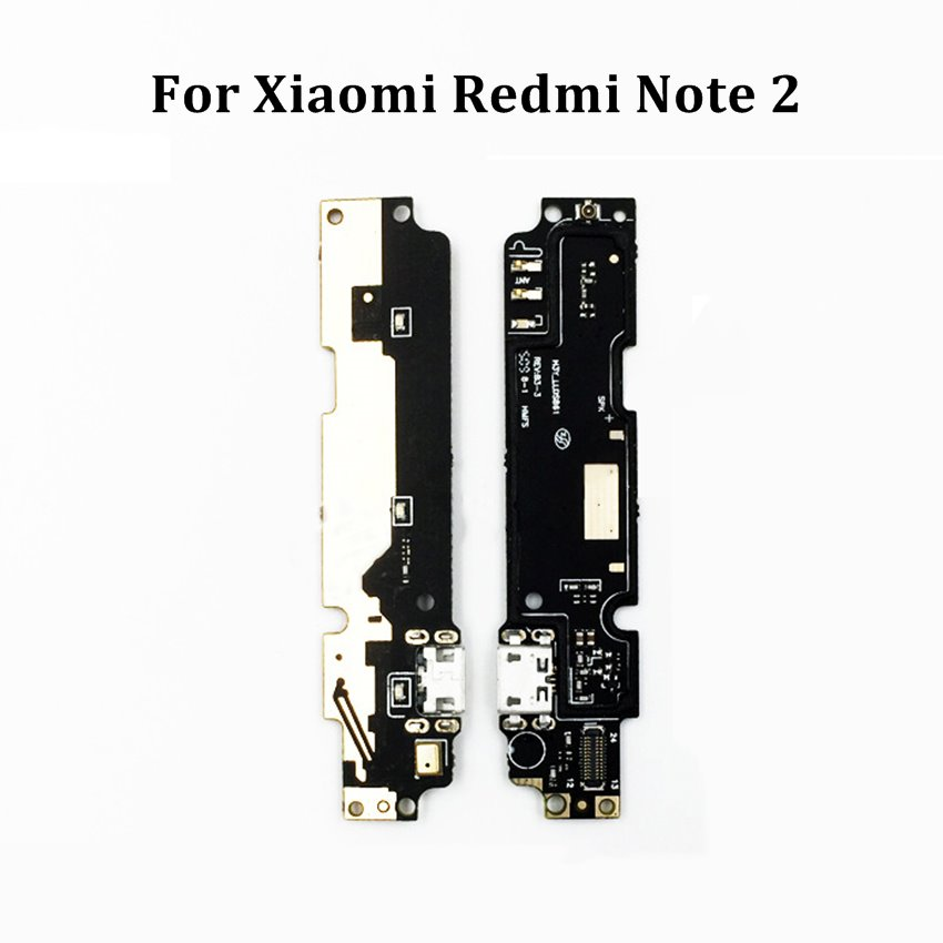 For Xiaomi Redmi Note 2 Dock Connector Micro USB Charger Charging Port Flex Cable Ribbon Module + Mic Replacement Parts