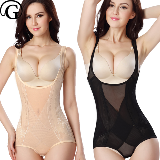 95da07cc0 PRAYGER Bamboo Women Slimming Full Body Shaper Lift Bras Control Thigh  Bodysuits Breathable Tummy Trimmer Corset