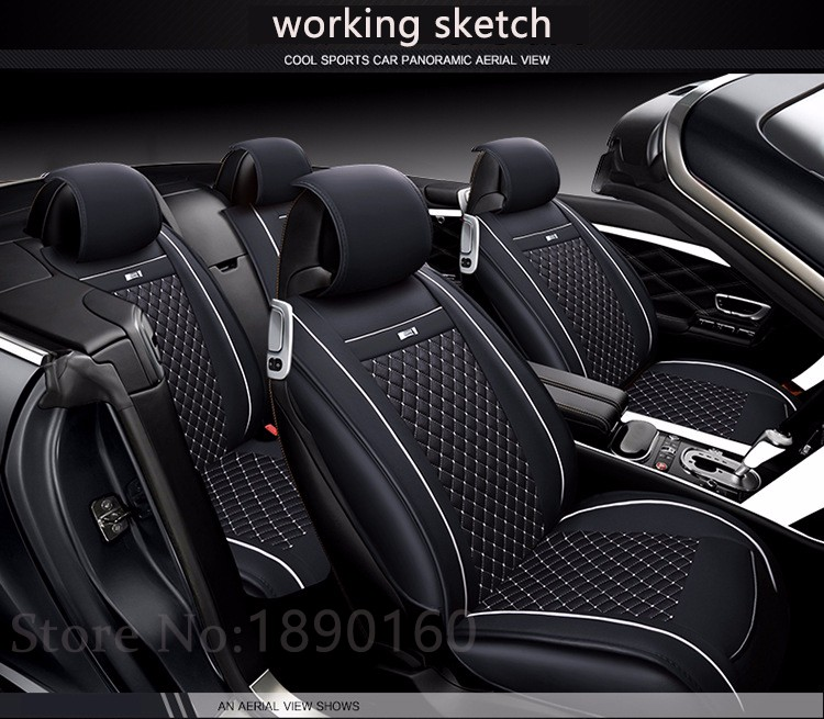Car Seat Cover Design >> 2016 Newly Special Leather Car Seat Cover For Chevrolet All Models Cruze 2015 2009 Evo Black Gray Red Blue Accessories Styling In Automobiles Seat