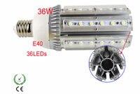 (6 יח'\חבילה) משלוח חינם E40 36 w LED תירס אור גבוהה כוח led רחוב אור 36 w E40.white 5500 k  חם לבן 3300 k-בפנסי רחוב מתוך פנסים ותאורה באתר