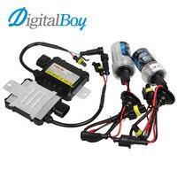 DIGITALBOY 55 W Xenon Lampen Kit Slim Ballast Blok voor H1 H3 H7 H8/H9 9005 9006 880/881 5000 k 6000 k HID Xenon Lamp Auto koplamp