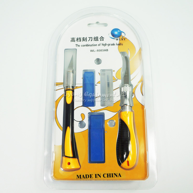 WL-9303AB Wood Carving Tools Engraving Craft Sculpture Knife Cutting and drilling Tool for wood or PCB