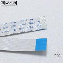 """100 יחידות EClyxun כבל FPC FFC 20 P 20 פין 0.5 מ""""מ המגרש 50 מ""""מ 100 מ""""מ 150 מ""""מ 200 מ""""מ 250 מ""""מ 300 מ""""מ אורך סוג B גמיש שטוח כבל"""