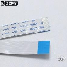 100 pinos do cabo 20 p 20 de eclyxun ffc fpc 0.5mm passo 50mm 100mm 150mm 200mm 250mm 300mm comprimento tipo a b cabo plano flexível