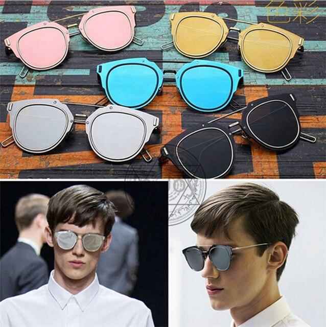 No box, Fashion Mens Womens Summer Style Brand D Sunglasses Super Thin Flat Sun Glasses Womens Clothing Decorations D63100