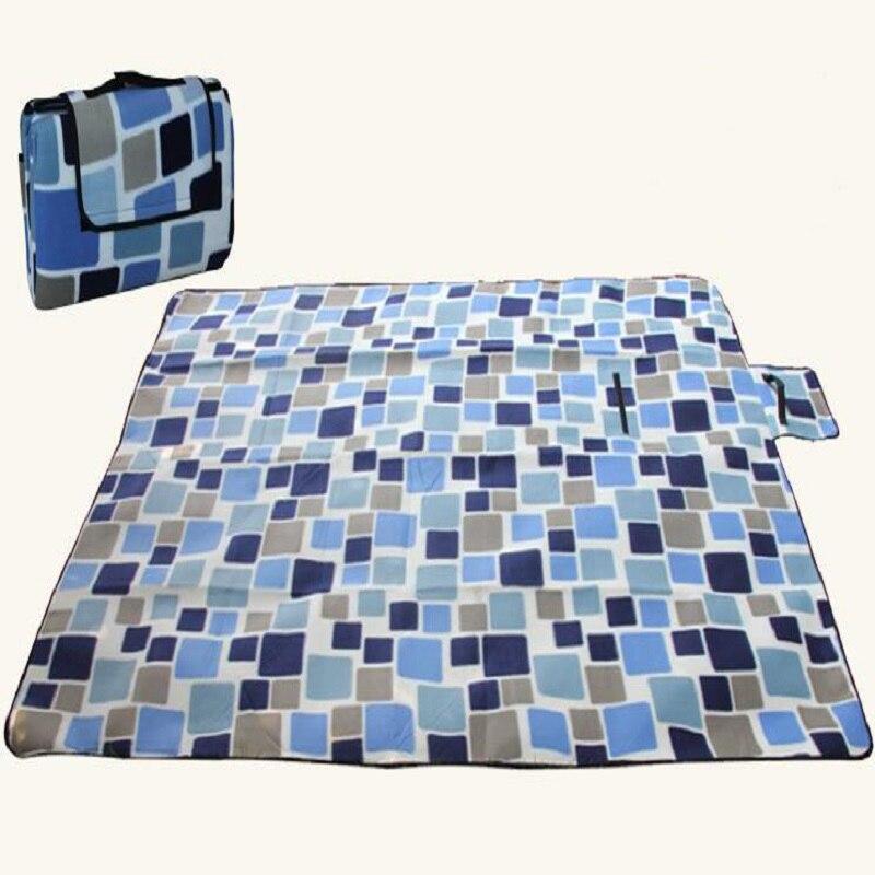 Grand tapis de pique-nique imperméable à l'humidité épaississant extérieur élargissant le double tapis de plage de camping imperméable