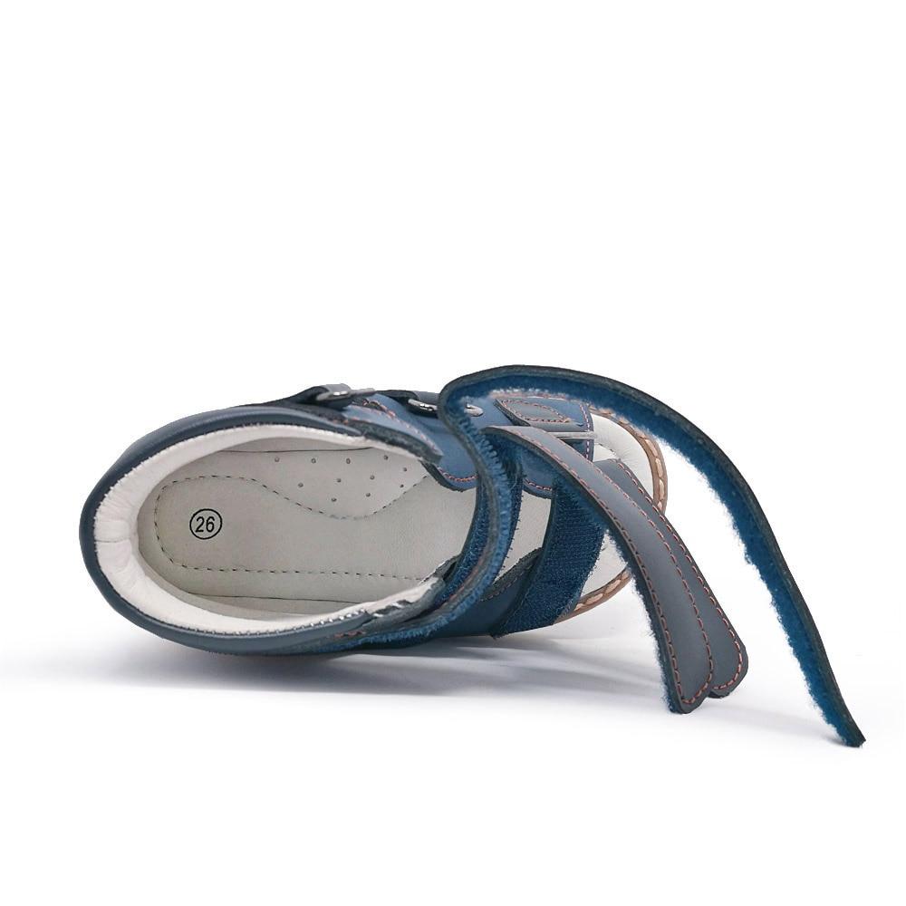 ORTHOFIT Crna Dječja kožna sandala Zatvorena peta Djeca Ortopedske - Dječja obuća - Foto 5