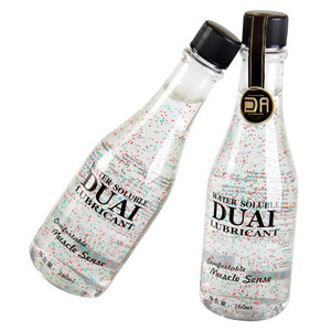 Image 4 - DUAI 260ml di lubrificante per il sesso silk touch Lubrificante Anale olio da massaggio Lubrificante Personale a base di acqua lubrificante per adulti prodotti del sesso