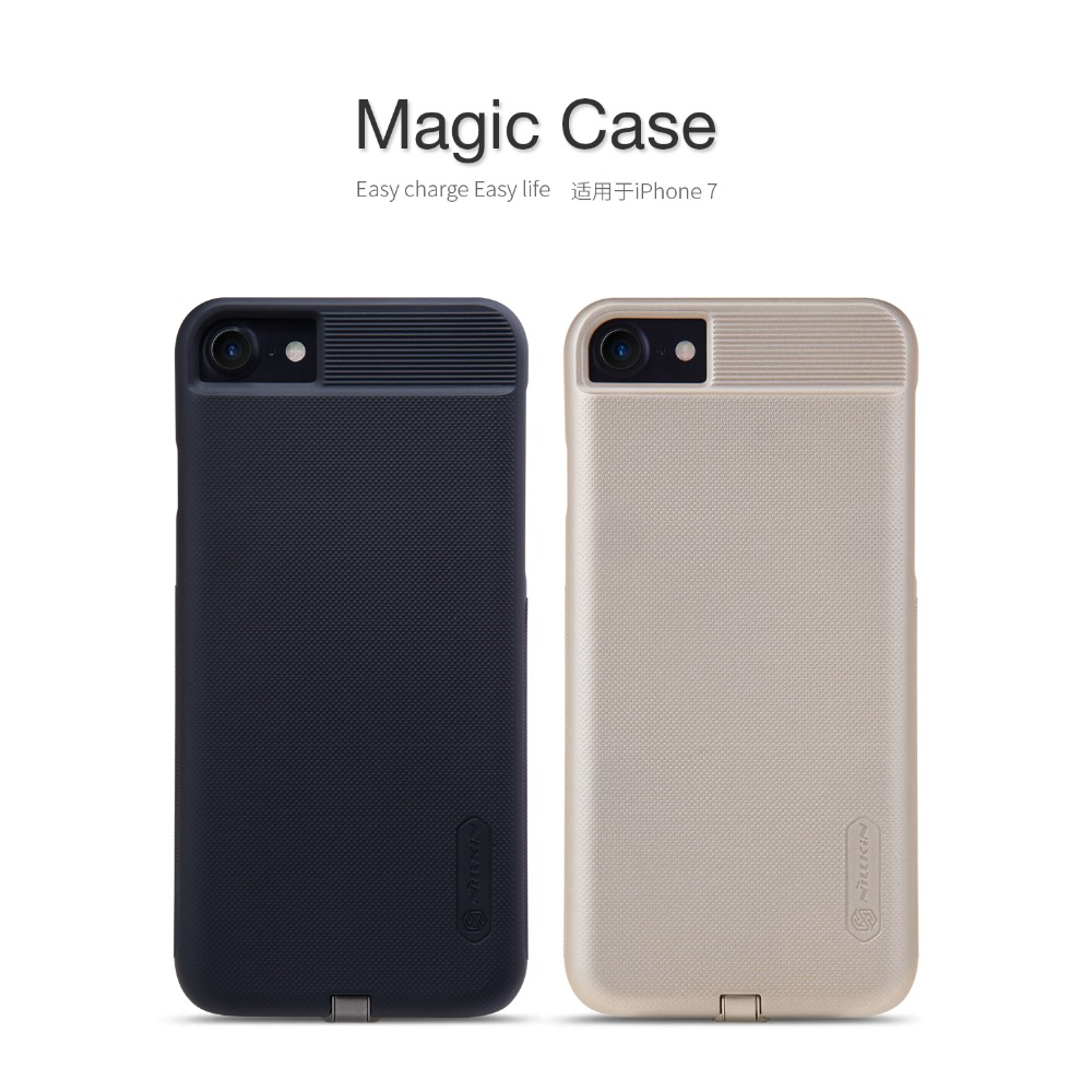 Nillkin Magic case For Apple iPhone 7 phone cases High quality protective cover Wireless charging Receiver back cover