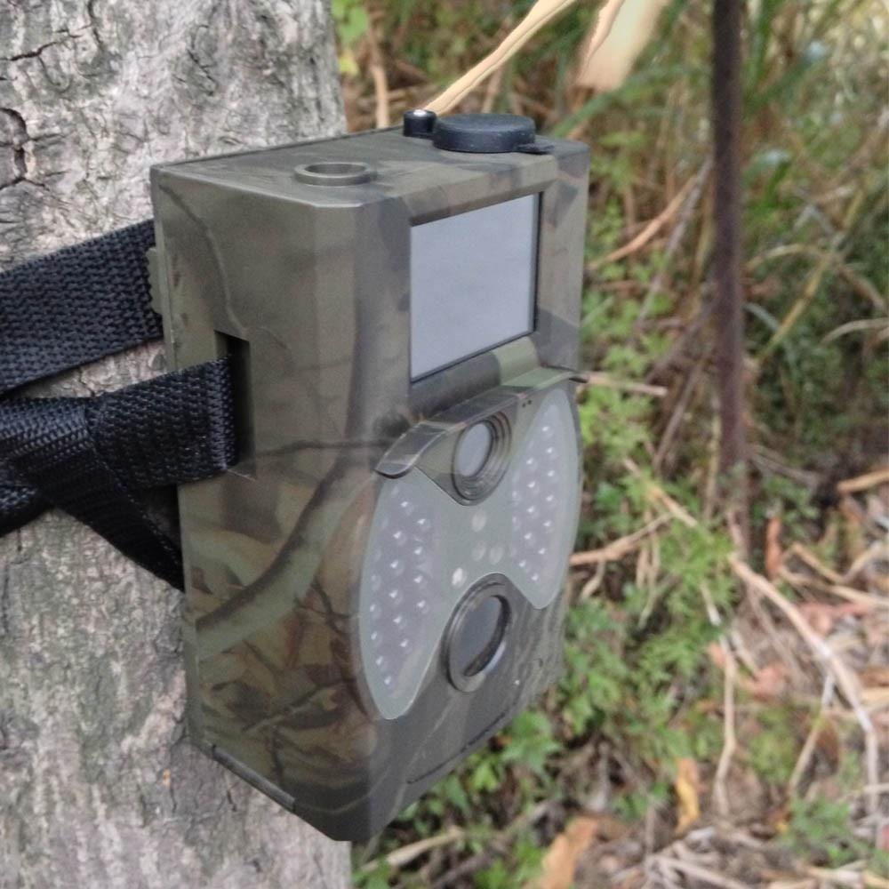 Caméra de chasse de base HC300A 12MP Vision nocturne 1080 P caméra vidéo de la faune caméras pour chasseur Photos piège Surveillance - 4