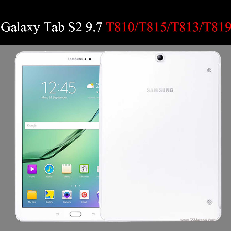 Flip PU Lederen Tablet case Voor Samsung Galaxy Tab S2 9.7 fundas Beschermende Stand Cover Soft Shell capa voor T813 t819 T810 T815