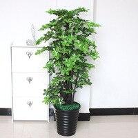 Fake tree 150cm Magnolia tree large living room floor bonsai decoration artificial greenery artificial plants