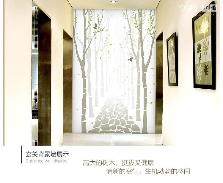 Moderne minimalistische d vliesbehang woonkamer achtergrond d