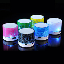Mini Wireless Bluetooth Speaker For iPhone Samsung Computer Portable Stereo Music Speaker Supported Mic TF USB FM Volume Control(China)