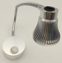 AC85-265V 3W Led Reading Lamps For Headboard