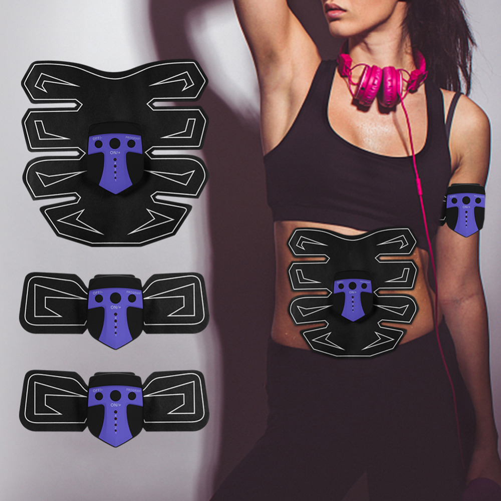 Six Modes Smart Electric Treatment Massager Abdominal Muscle Trainer Smart Fitness Abdomen Arm Leg Body Fitness