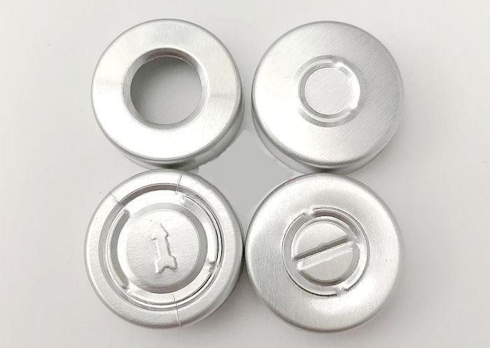 1000pcs lot 20mm Full Aluminum Filp Off Cap Cover Glass vial bottle top sealed