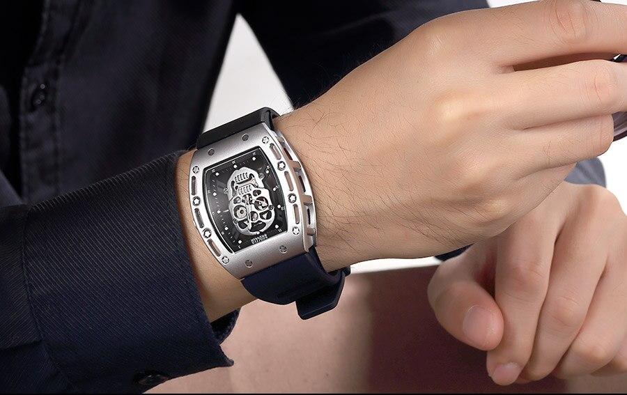 Quartzo Relógios de Pulso À Prova D'