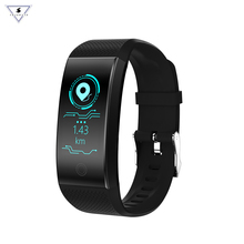 QW18 Smart Band Fitness Bracelet Pedometer IP68 Waterproof  Heart Rate Monitor Tracker Intelligent Clock PK Mi 3 2