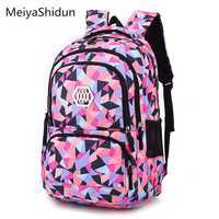 Fashion Women Backpack Children School Bags For Girls Kid Backpacks Printing Backpacks Schoolbag Portable Bookbag Mochila