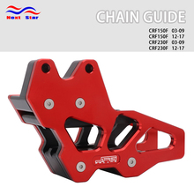 Motorcycle Red Chain Guard Slider Guide For Honda CRF150F CRF 150F 150 F 2003-2009 12-17 CRF230F CRF 230F 230 F 03-09 2012-2017 salmo slider f 07 ctm
