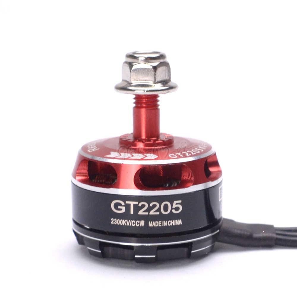4 ชิ้น/ล็อต Readytosky GT2205 2205 2300KV Brushless Motor CW/CCW 3-4 S สำหรับ Robocat 270 VX210 RC FPV Racing Quadcopter