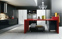 Лаковый кухонный шкаф (LH-LA002)