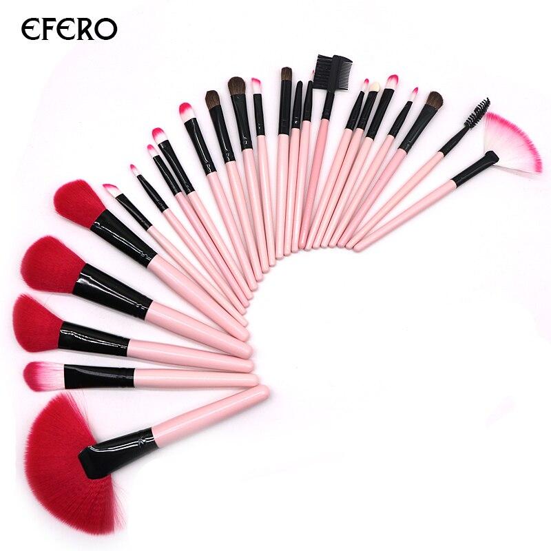 efero 24Pcs/set Professional Makeup Brushes Foundation ...