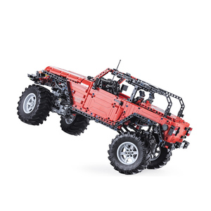 Image 2 - CADA télécommande Jeep Wrangler voiture technique aventurier blocs de construction briques ensemble enfants garçons jouets éducatifs anniversaires cadeaux