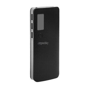Image 3 - 3 portas usb 5x18650 diy titular da bateria portátil display lcd caso caixa de banco de potência whosale & dropship