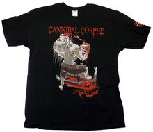 Cannibal Corpse - Rabid Black T-Shirt BRAND NEW SIZE XL (X-Large) 100% Cotton Short Sleeve Summer T Shirt