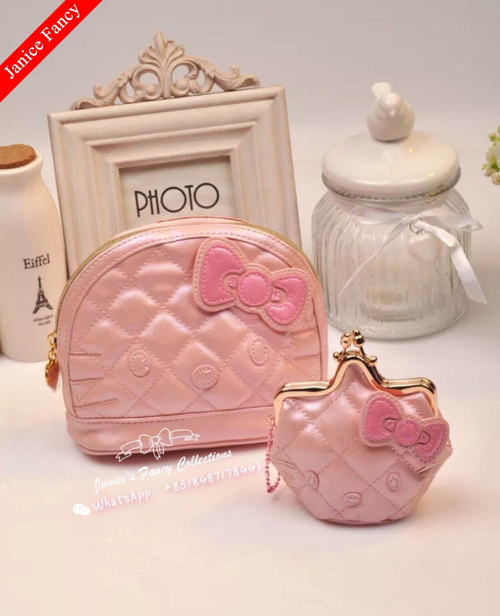 designer bag clearance zbzx  Clearance Sale Hello Kitty Designer Cartoon Makeup Bolso Mujer Travel Women  Cosmetic Storage Bags Coin Purse