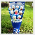 Graduation gift lovely doraemon gift box Cartoon Bouquets Valentine's Day Birthday Gift Bouquet of the Soft Toys free shipping