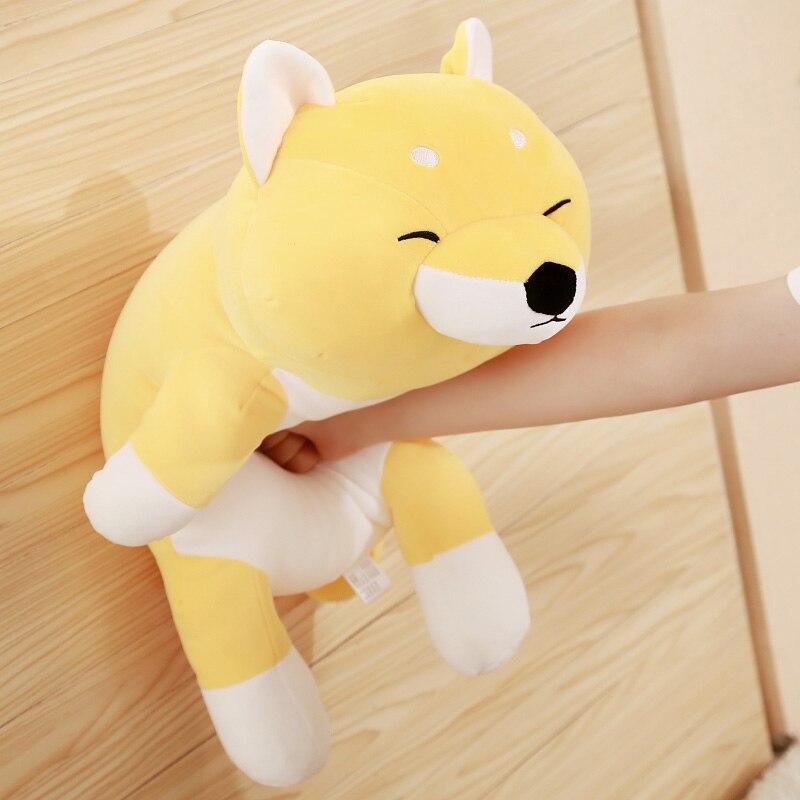 45cm Cartoon Corgi Plush Toy Dog Stuffed Animals Doll Plush Soft Toys Shiba Inu Dog Plush Pillow