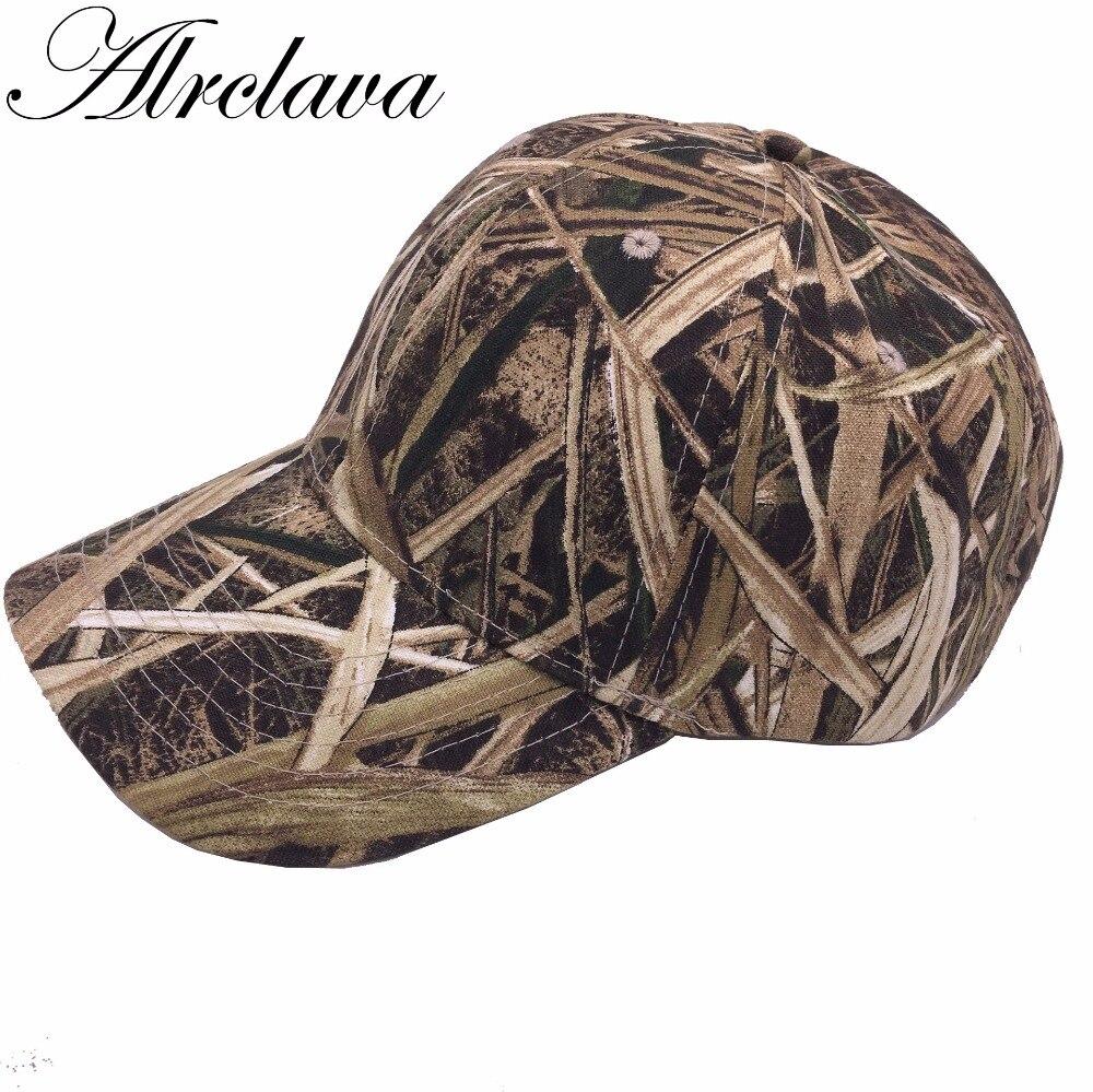 de17b4dd6fb Hunting Camouflage Cap Adjustable Baseball Hat Tactical Outdoor Fishing Camo  Cap AL01