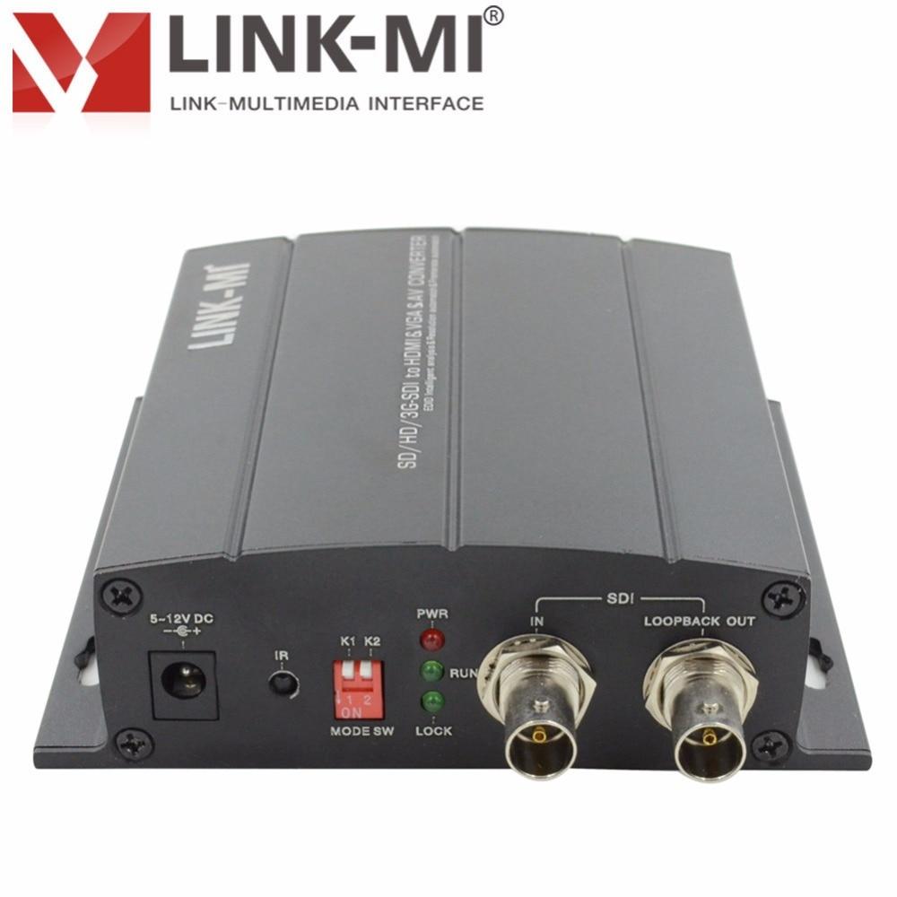 LINK-MI LM-SC5810P SD / HD / 3G-SDI to HDMI / VGA / AV Broadcast - Տնային աուդիո և վիդեո - Լուսանկար 4