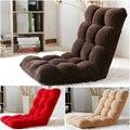 Tecido de alta qualidade sofá sofá multifuncional cadeira dobrável lazer cadeira Siesta sofá macio morno criativo móveis beanbag