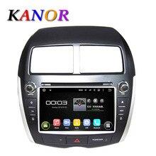 KANOR android 5.11 Del Coche DVD GPS de Radio para Mitsubishi ASX/Citroen C4/Peugeot 4008 con qual Core 1.6G BT USB Mapa Libre WIFI