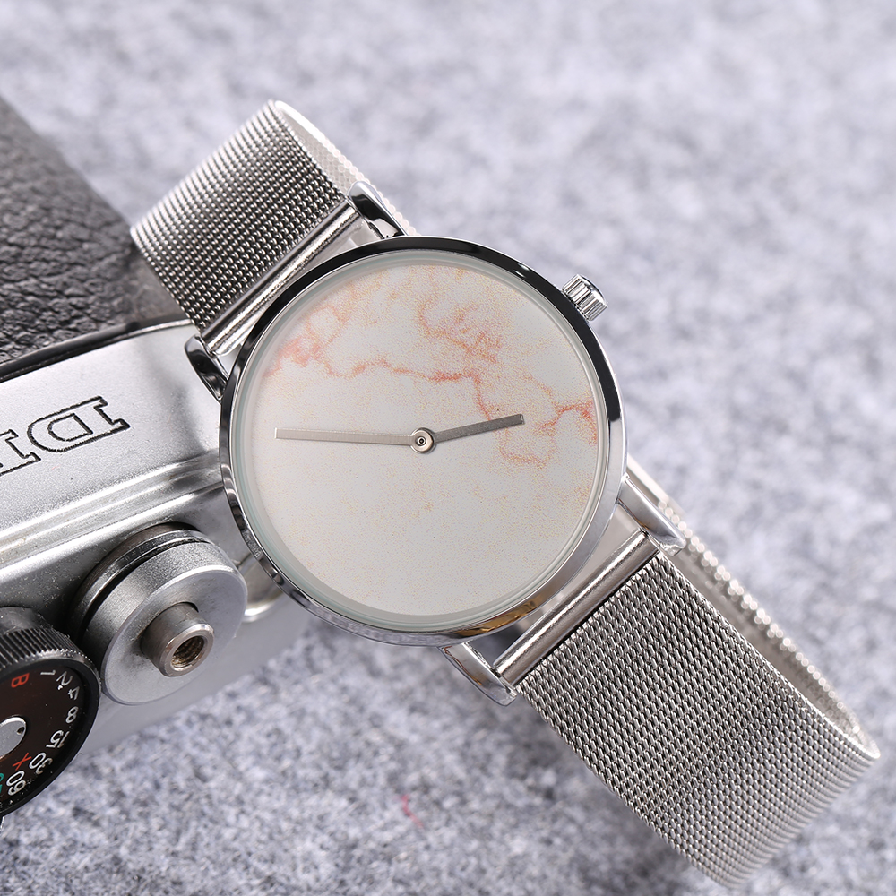 top luxury brand cagarny quartz watch women silver stainless steel mesh band simple style ladies wrist watches waterproof 2019 trendy (7)