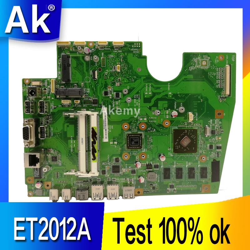 AK Original All-in-one Motherboard For ASUS ET2012A ET2012 Mainboard 100% Test Ok Works