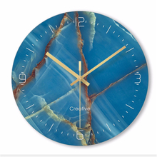Wall clock Minimalist quartz watch simple Clocks Home Decoration Living Room Silent 12 inch W49