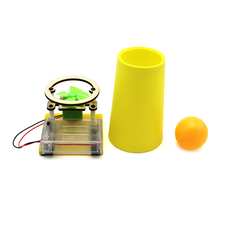 Assemble DIY Electric Floating Suspended Ball Kids Toys For Children Educational Science Experiment Kits Materials Models