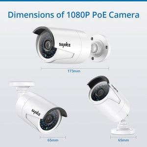 Image 4 - SANNCE 4CH HD 1080P HDMI P2P POE NVR 1TB HDD Überwachung System Video Ausgang 4PCS 2.0MP IP kamera Home Security CCTV Kits