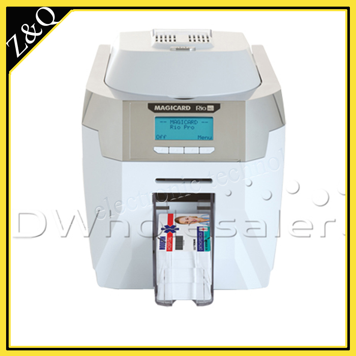 Magicard Rio Pro ID Card printing machine Single-Sided with two MA300 YMCKO ribbon magicard rio pro duo ms