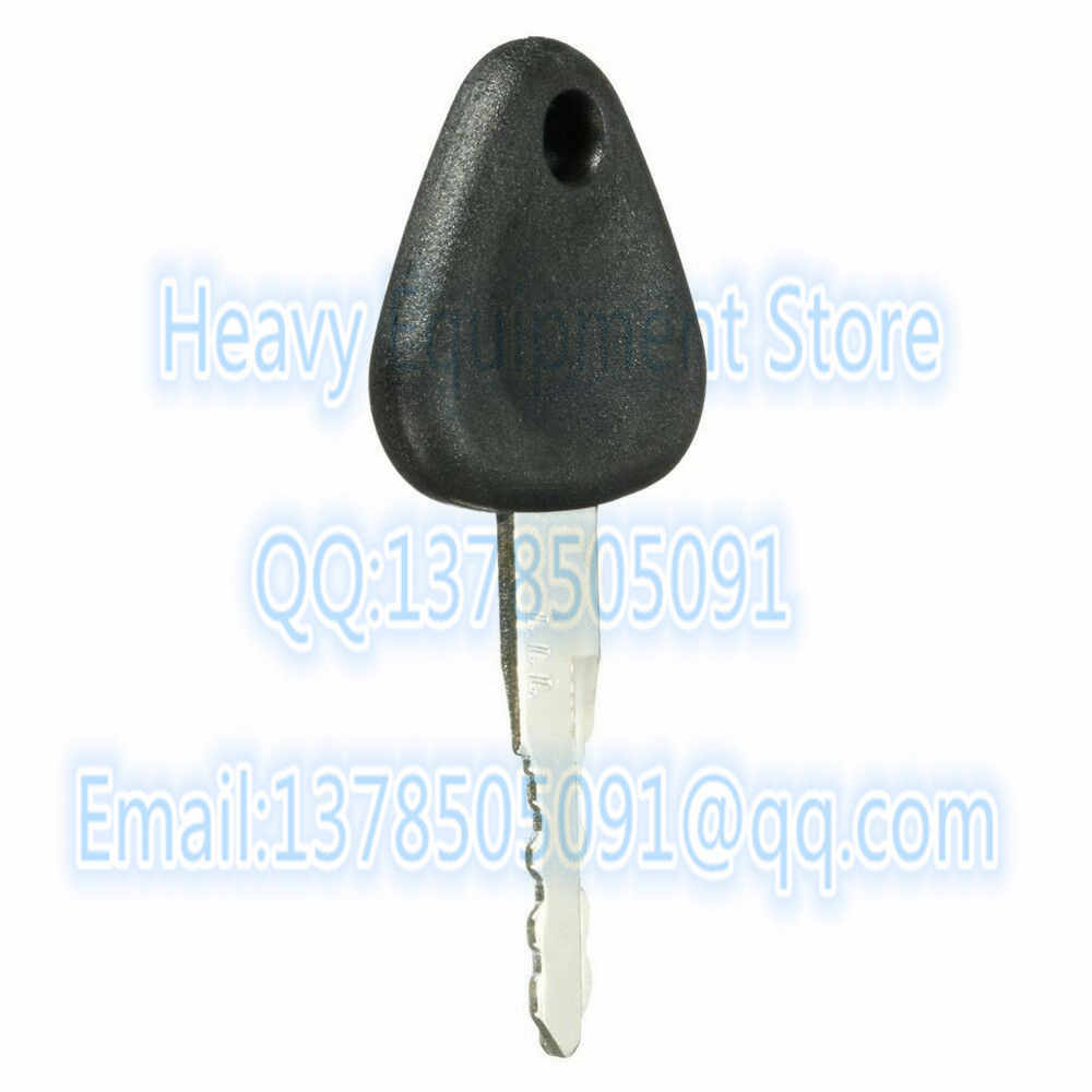 1PC 777 Key  For Volvo Excavator & Heavy Equipment Ignition Switch Starter Replacement Fit Many Models
