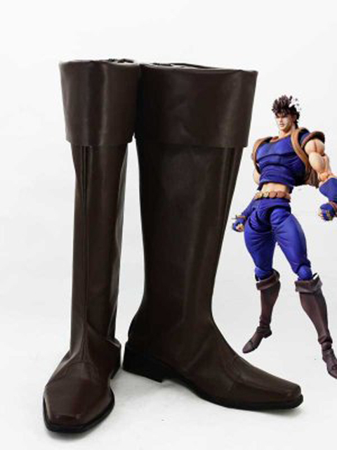 JOJO Phantom Blood Jonathan Joestar Cosplay Boots Shoes Men Cosplay Costume  Party Shoes Custom Made Boots