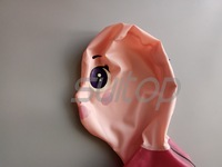 Suitop latex Hoods for Anime