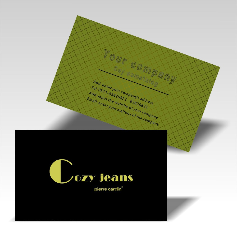 custom business card printing promotionshop for promotional