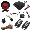 Universal One Way Car Alarm Security System With Four Buttons Remote Transmitters Suitable For All Kinds Of Cars Fast Shipping