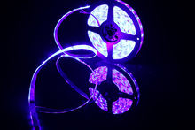 Светодиодный аквариумный светильник smd2835 синий и фиолетовый